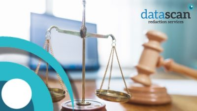Solicitors request datascan redaction