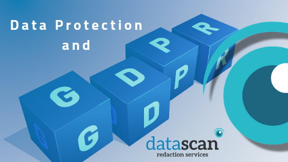 Data protection and GDPR datascan redaction